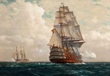 Michael_Zeno_Diemer_-_Ship_at_Sea